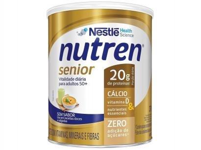 Complemento Alimentar Nutren Senior Sem Sabor - Integral 370g