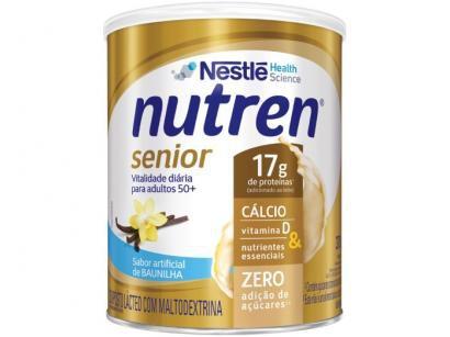 Complemento Alimentar Nutren Baunilha Senior - Integral 370g