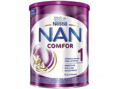 Fórmula Infantil Nestlé Leite Comfor 1 NAN - 800g