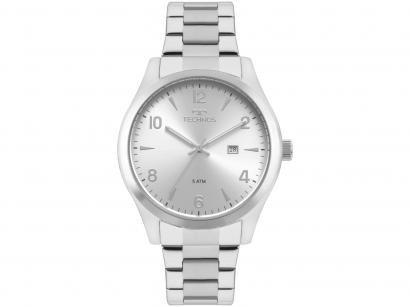 Relógio Masculino Technos Analógico Steel - 2115MRB/1K Prata