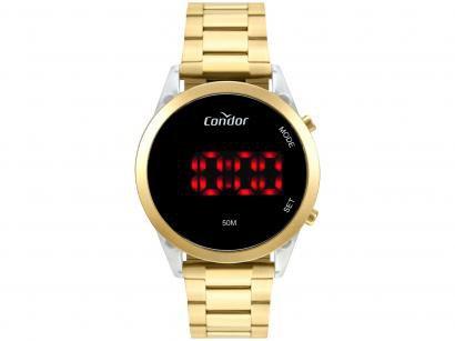Relógio Feminino Condor Digital COJHS31BAF/7D - Dourado