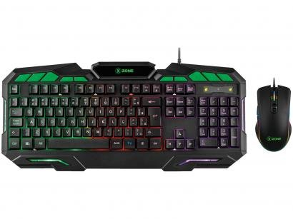 Kit Teclado e Mouse Gamer XZONE GTC-01 -
