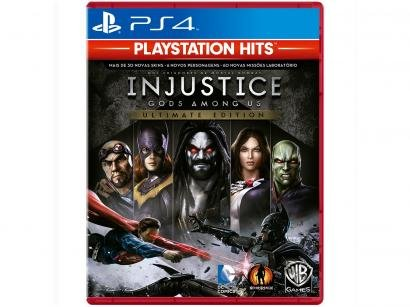 Injustice Gods Among Us Ultimate Edition para PS4 - WB Games PlayStation Hits