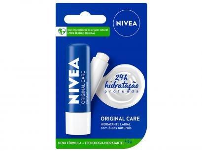 Protetor Labial Nivea Original Care - Hidratação Profunda 4,8g