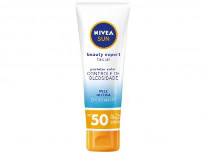 Protetor Solar Facial Nivea FPS 50 Sun - Beauty Expert 50g