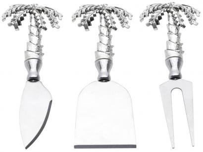 Conjunto para Queijo Bon Gourmet Palmeira - 3 Peças