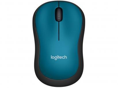 Mouse sem Fio Logitech Laser 1000DPI - M185