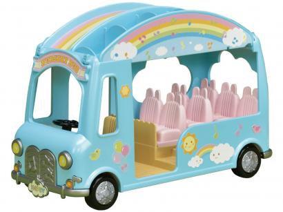 Sylvanian Families Ônibus Arco-íris com Acessórios - Epoch Magia