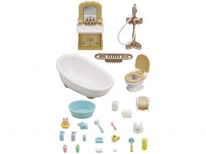 Sylvanian Families Conjunto Toalete e Banho - com Acessórios Epoch Magia