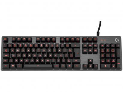 Teclado Mecânico Gamer Logitech G413 USB ABNT2 - Preto