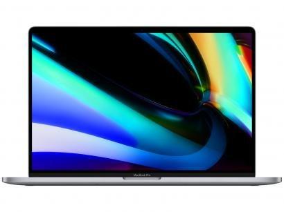 "MacBook Pro 16"" Apple Intel Core i7 16GB RAM - 512GB SSD Cinza-espacial"