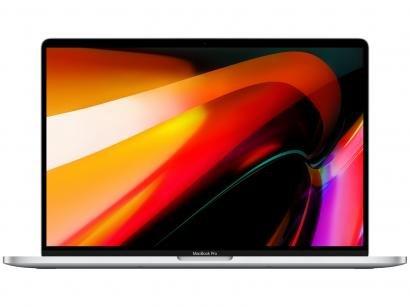 """MacBook Pro 16"""" Apple Intel Core i7 16GB RAM - 512GB SSD Prateado"""