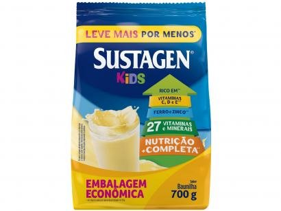 Complemento Alimentar Infantil Sustagen Kids - Baunilha 700g
