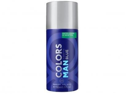 Desodorante Benetton Colors Man Blue Spray - Masculino 150ml