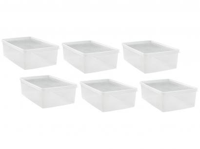 Kit de Caixas para Sapatos 6 Unidades Ordene - My Closet