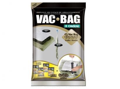 Saco a Vácuo com Bomba Ordene Vac Bag - 5 Peças