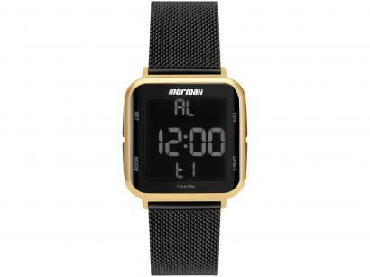 Relógio Unissex Mormaii Digital - MO6600AH/8P Preto