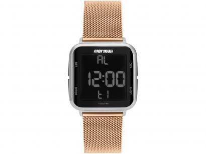 Relógio Feminino Mormaii Digital - MO6600AK/8J Rosê