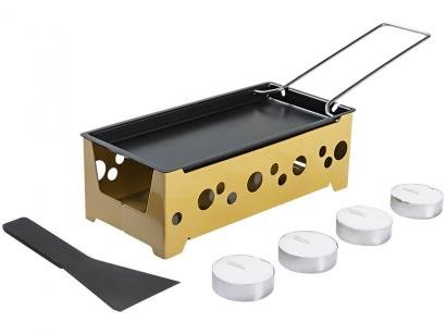 Raclette Brinox Amarelo 7 Peças 1256/106