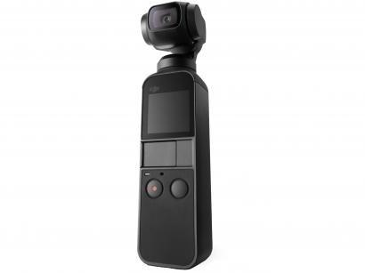 Osmo Pocket DJI 4K com Estabilizador - Preto