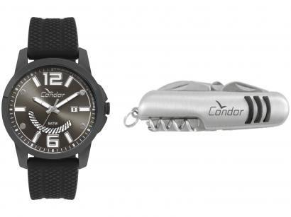 Relógio Masculino Condor Analógico - CO2115KTL/K2C Preto com Acessório