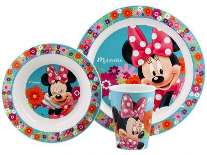 Kit Alimentação Infantil 3 Peças Lillo Baby Care - Disney