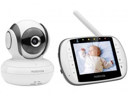 Babá Eletrônica Motorola MBP36SC com Câmera - Visão Noturna Alcance até 300m