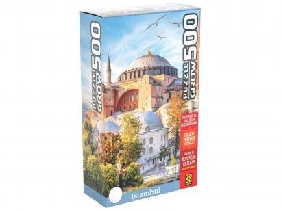 Quebra-cabeça 500 Peças Paisagem Puzzles Adultos - Istambul Grow