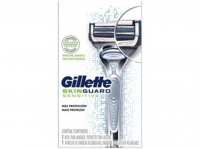 Aparelho de Barbear Gillette - Skinguard Sensitive
