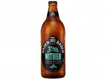 Cerveja Baden Baden Witbier - 600ml