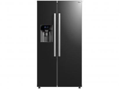 Geladeira/Refrigerador Philco Frost Free - Side by Side Preto 520L PRF520DIP