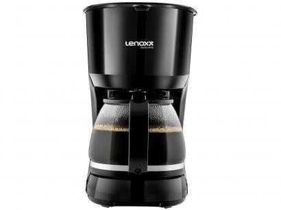 Cafeteira Elétrica Lenoxx Grand Coffee PCA037 - 30 Cafés Preta
