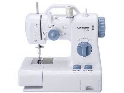 Máquina de Costura Lenoxx Pratic Portátil - Eletrônica