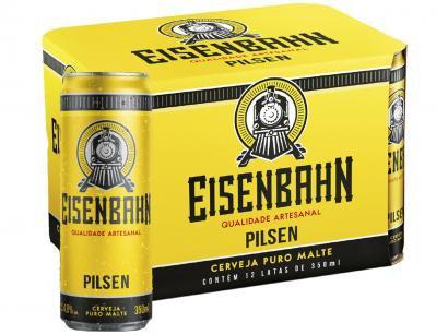 Cerveja Eisenbahn Pilsen 12 Unidades - 350ml