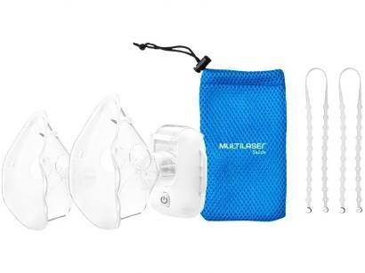 Nebulizador/Inalador Portátil Rede Vibratória - Multilaser Mash Air Mask