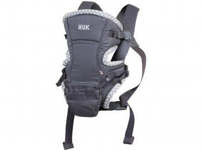Canguru para Bebê 3 Posições até 9,5kg NUK - 3 em 1 Baby Carrier Natural Fit