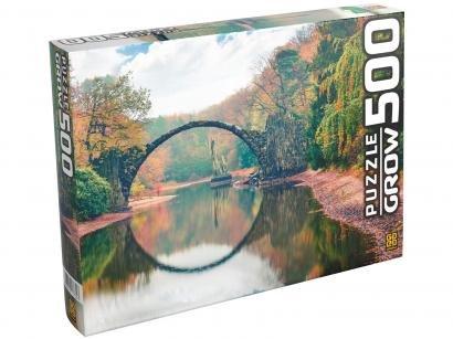 Quebra-cabeça 500 Peças Ponte Espelhada - Grow