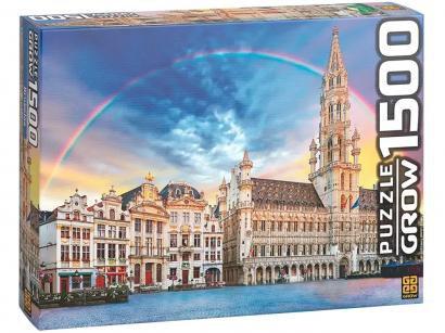 Quebra-cabeça 1500 Peças Bruxelas - Grow