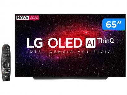 "Smart TV 4K OLED IPS 65"" LG OLED65CXPSA - Wi-Fi Bluetooth HDR Inteligência Artificial 4 HDMI"