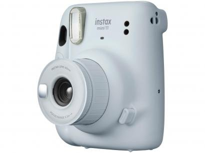 Instax Mini 11 Fujifilm Branca Flash Automático - com Acessórios