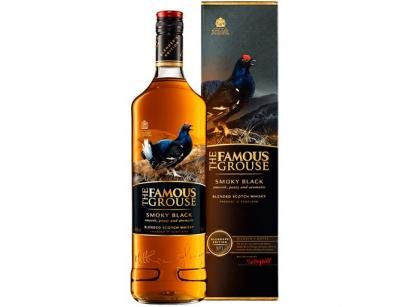 Whisky The Famous Grouse Escocês Smoky Black - 750ml