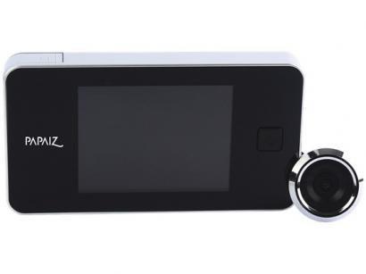 "Olho Mágico Digital com Câmera Papaiz 08700020CA - LCD 2,8"""