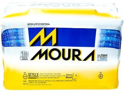 Bateria de Carro Moura Green Energy - 75Ah 12V Positivo 75LX MGE
