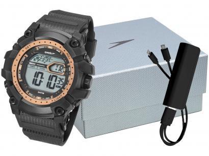 Relógio Masculino Speedo Digital - 11004G0EVNP3K1 Preto com Acessório
