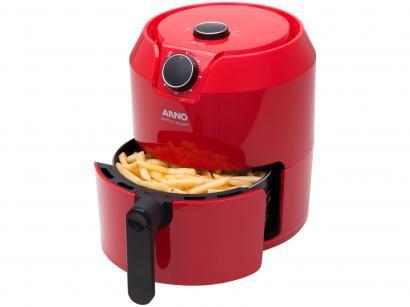 Fritadeira Elétrica sem Óleo/Air Fryer Arno - Super RFRY Vermelha 4,2L com Timer