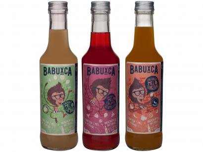 Kit Bebida Mista Babuxca Cachaça 3 Sabores 275ml - 3 Unidades