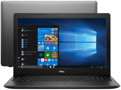 """Notebook Dell Inspiron 15 3000 Intel Core i3 4GB - 256GB SSD 15,6"""" Windows 10"""