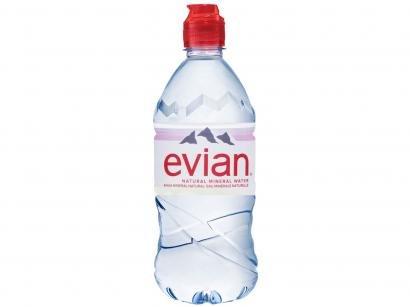 Água Mineral sem Gás Evian - 750g