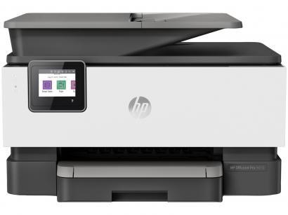 Impressora Multifuncional HP OfficeJet Pro 9010 - Jato de Tinta Colorida Wi-Fi USB