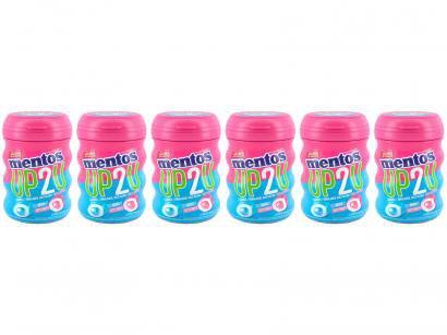 Goma de Mascar Mentos Pure Fresh Tutti-Frutti - Menta sem Açúcar 56g Display 6 Unidades